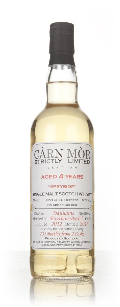 Dailuaine 4 Year Old 2012 - Strictly Limited (Carn Mor) Single Malt Whisky