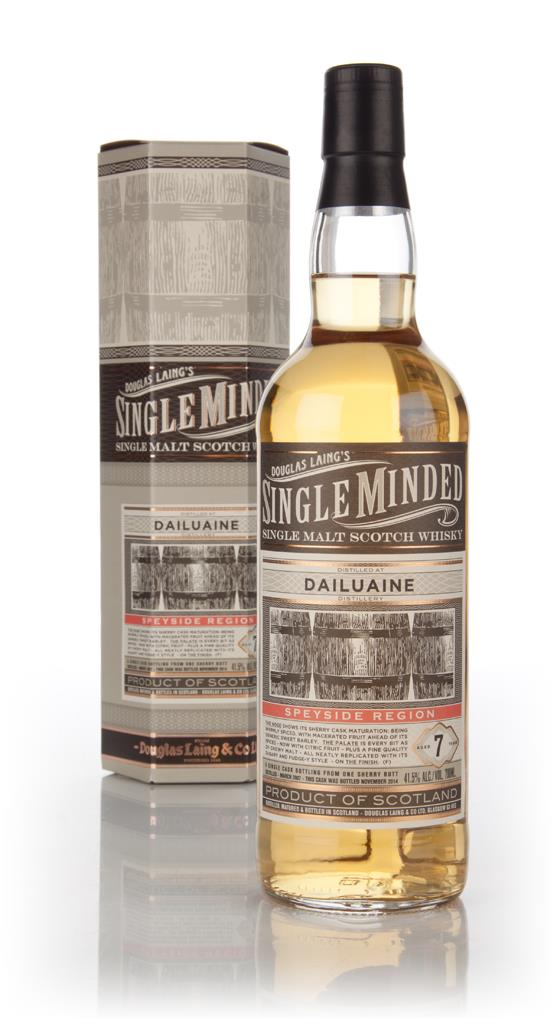 Dailuaine 7 Year Old 2007 - Single Minded (Douglas Laing) Single Malt Whisky