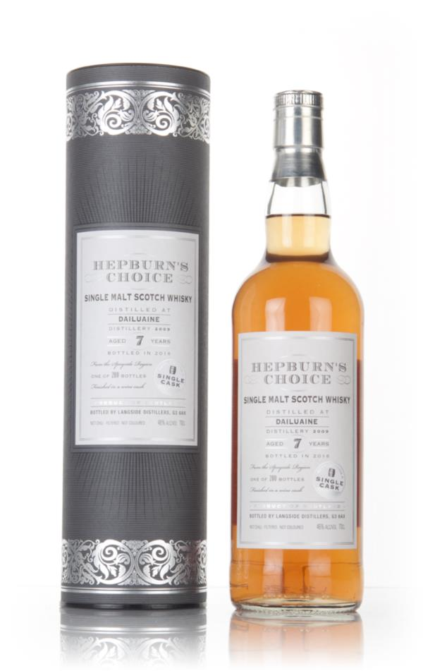 Dailuaine 7 Year Old 2009 - Hepburn's Choice (Langside) Single Malt Whisky