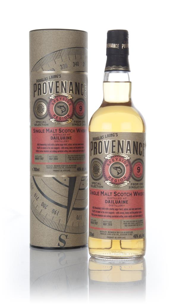 Dailuaine 9 Year Old 2007 (cask 11250) - Provenance (Douglas Laing) Single Malt Whisky