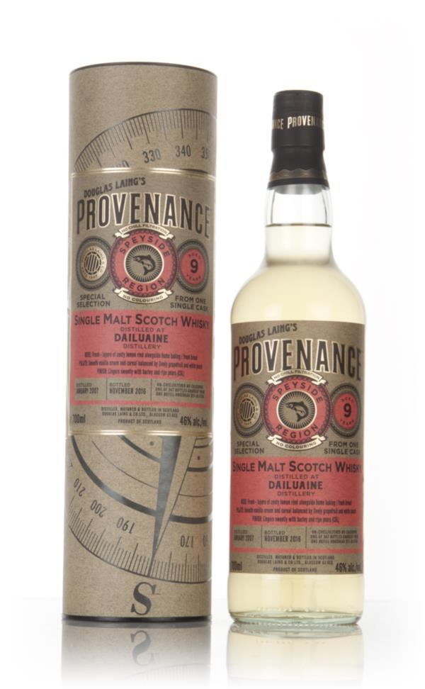 Dailuaine 9 Year Old 2007 (cask 11504) - Provenance (Douglas Laing) Single Malt Whisky