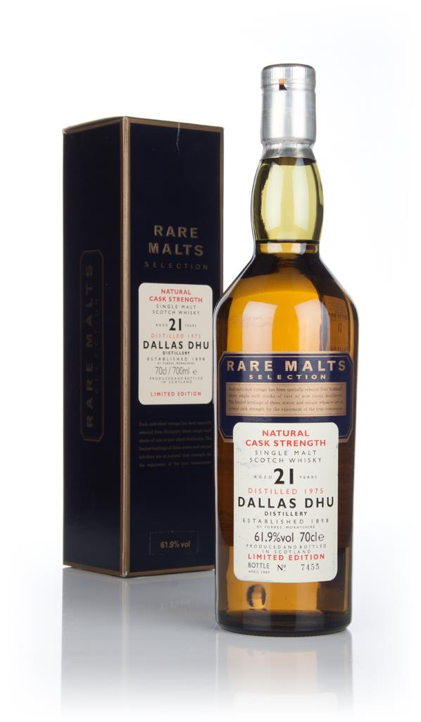 Dallas Dhu 21 Year Old 1975 - Rare Malts Single Malt Whisky