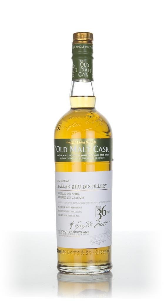 Dallas Dhu 36 Year Old 1971 - Old Malt Cask (Douglas Laing) Single Malt Whisky