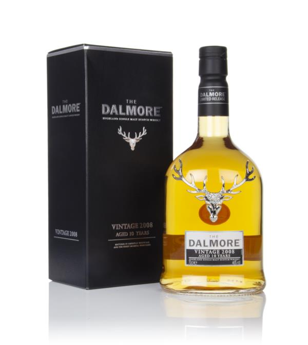 Dalmore 10 Year Old - Vintage 2008 Single Malt Whisky