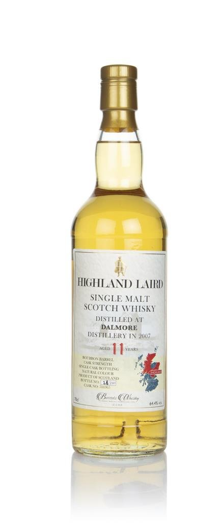 Dalmore 11 Year Old 2007 (cask 516965) - Highland Laird (Bartels Whisk Single Malt Whisky