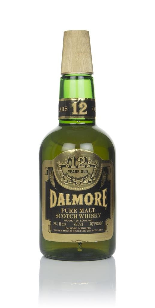 Dalmore 12 Year Old (Old Bottling) Single Malt Whisky