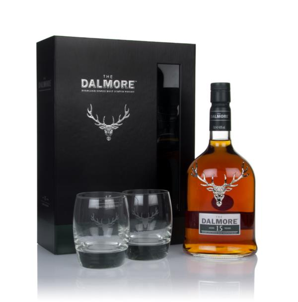 Dalmore 15 Year Old Gift Pack with 2x Glasses Single Malt Whisky
