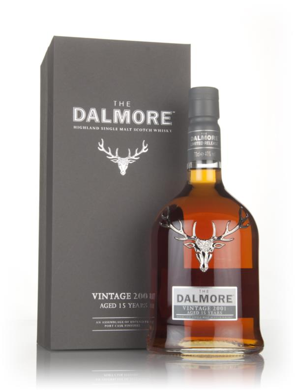 Dalmore 15 Year Old - Vintage 2001 Single Malt Whisky
