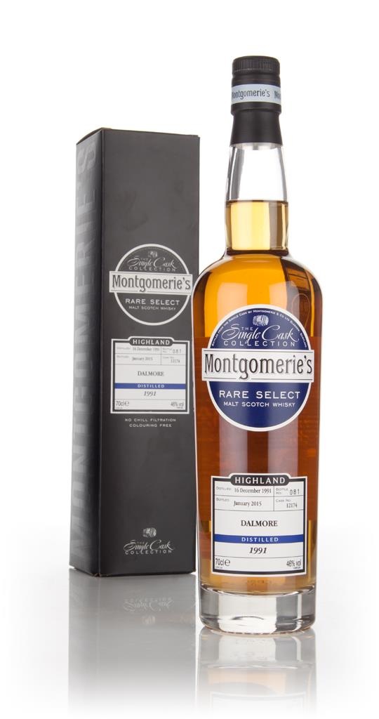 Dalmore 23 Year Old 1991 (cask 12174) - Rare Select (Montgomeries) 3c Single Malt Whisky 3cl Sample