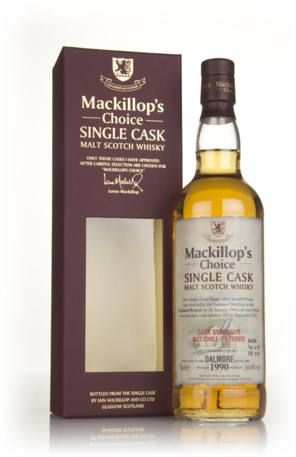 Dalmore 27 Year Old 1990 (cask 252) - Mackillops Choice 3cl Sample Single Malt Whisky