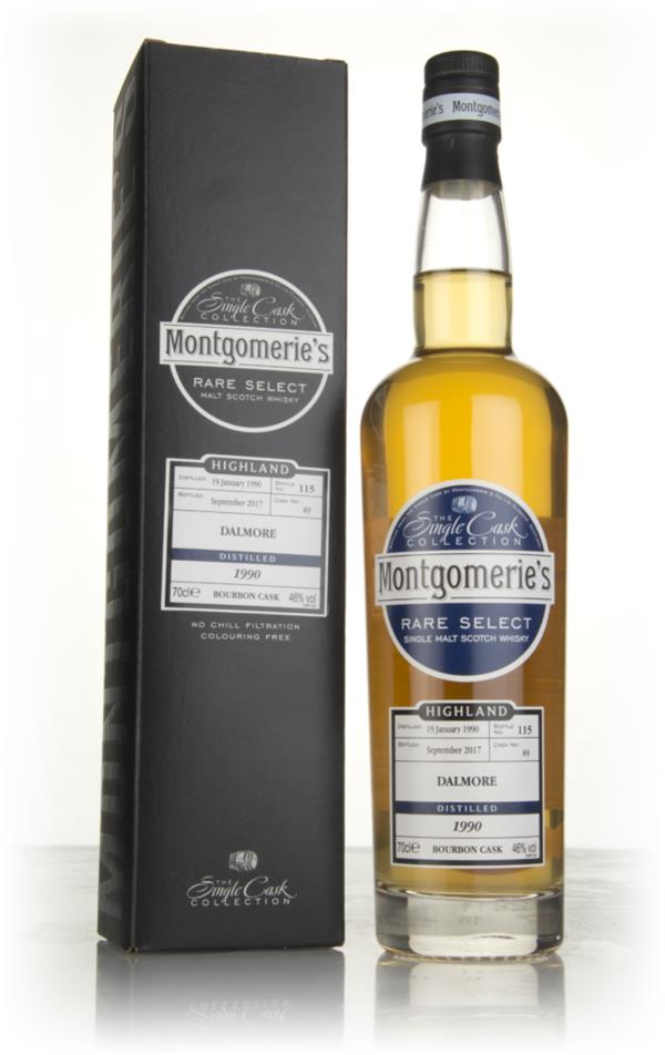 Dalmore 27 Year Old 1990 (cask 89) - Rare Select (Montgomeries) Single Malt Whisky