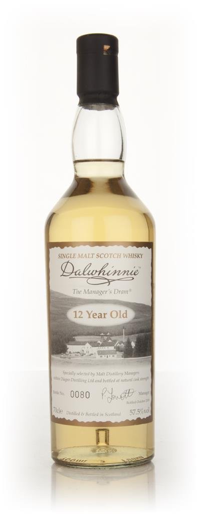 Dalwhinnie - The Managers Dram Single Malt Whisky