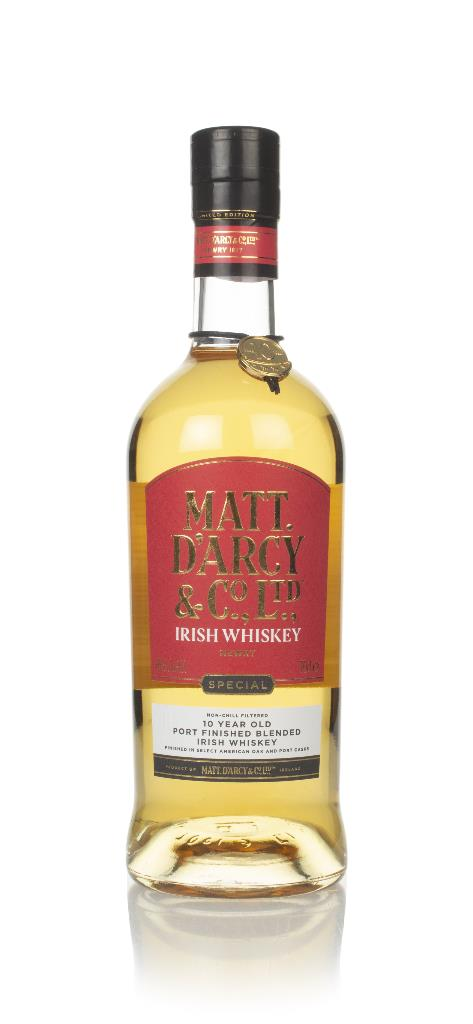 Matt Darcy & Co. 10 Year Old Blended Whiskey
