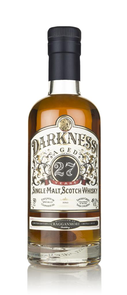 Darkness! Cragganmore 27 Year Old Fino Cask Finish 3cl Sample Single Malt Whisky