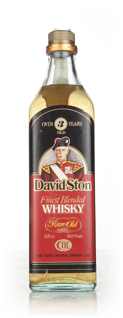 David Ston 3 Year Old - 1970s Blended Whisky