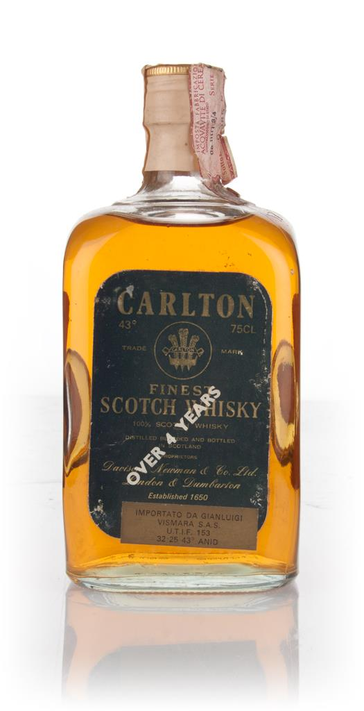 Carlton 4 Year Old - 1970s Blended Whisky