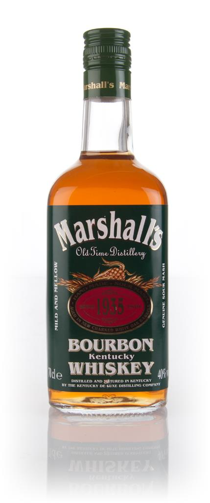 Marshalls Bourbon Bourbon Whiskey