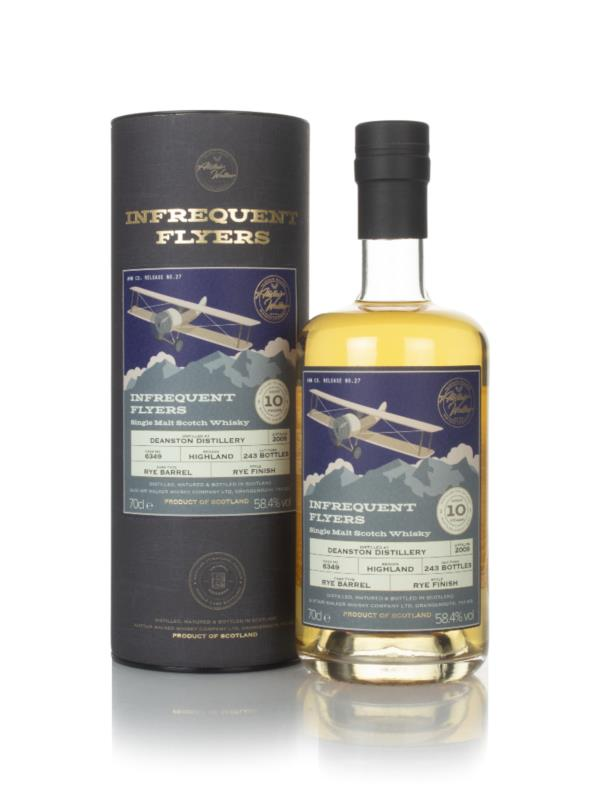Deanston 10 Year Old 2009 (cask 6349) - Infrequent Flyers (Alistair Wa Single Malt Whisky
