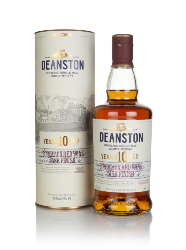Deanston 10 Year Old Bordeaux Red Wine Cask Finish Single Malt Whisky