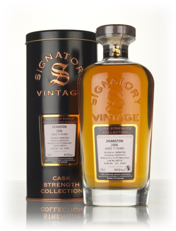 Deanston 11 Year Old 2006 (cask 900126) - Cask Strength Collection (Si Single Malt Whisky