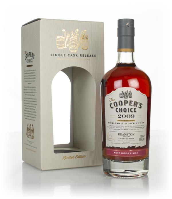 Deanston 11 Year Old 2009 (cask 5211) - The Coopers Choice (The Vinta Single Malt Whisky