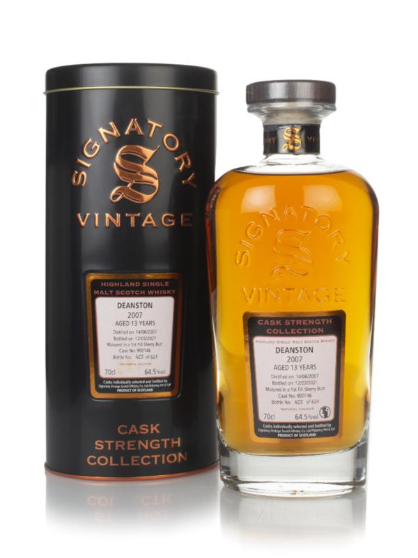 Deanston 13 Year Old 2007 (cask 900146) - Cask Strength Collection (Si Single Malt Whisky
