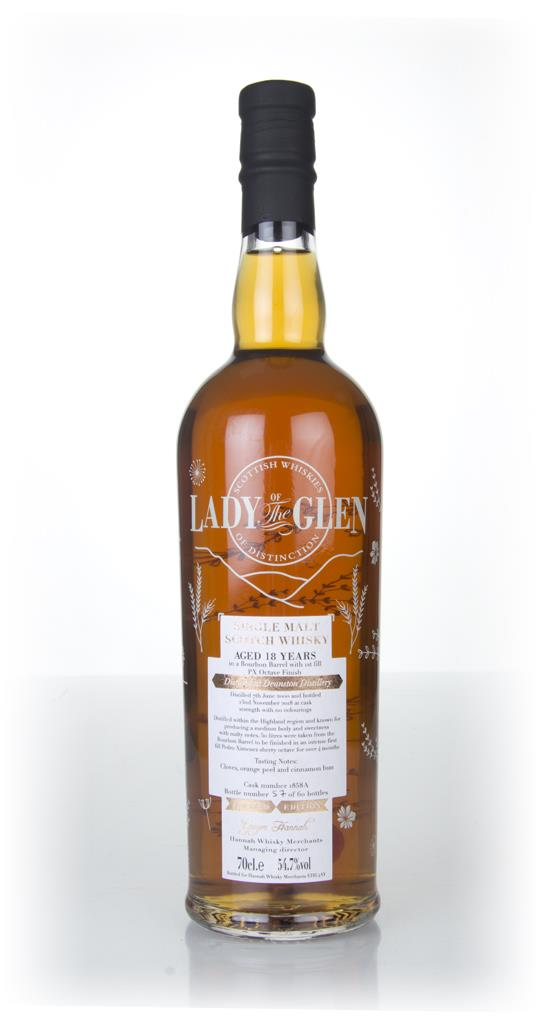 Deanston 18 Year Old (cask 1858) - Lady of the Glen (Hannah Whisky Mer Single Malt Whisky