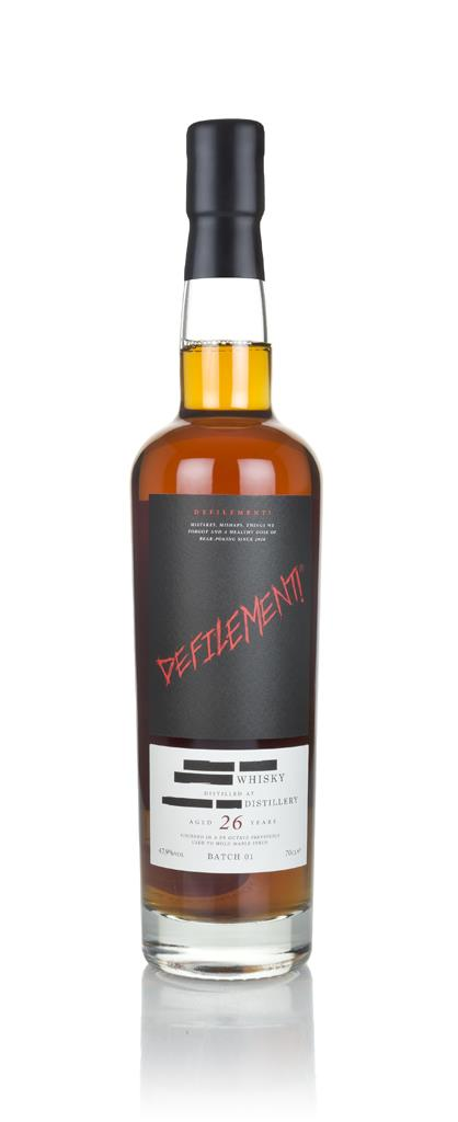 26 Year Old Whisky - Maple Syrup Cask Finish (Defilement) 3cl Sample Blended Whisky