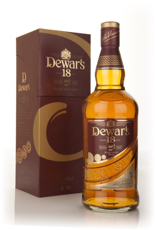 Dewar's 18 Year Old Double Aged 3cl Sample Blended Whisky