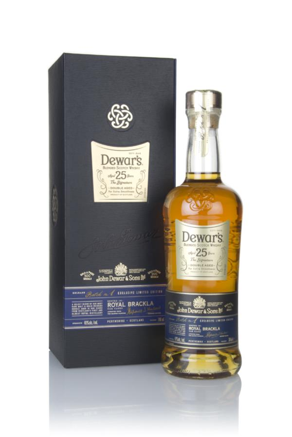 Dewars 25 Year Old Signature Blended Whisky