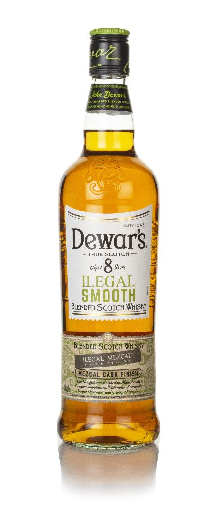 Dewars 8 Year Old Ilegal Smooth Blended Whisky