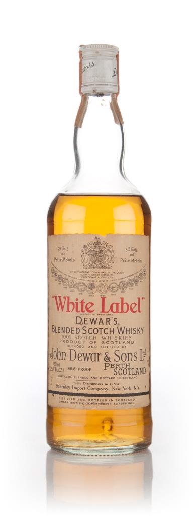Dewars White Label - 1960s Blended Whisky