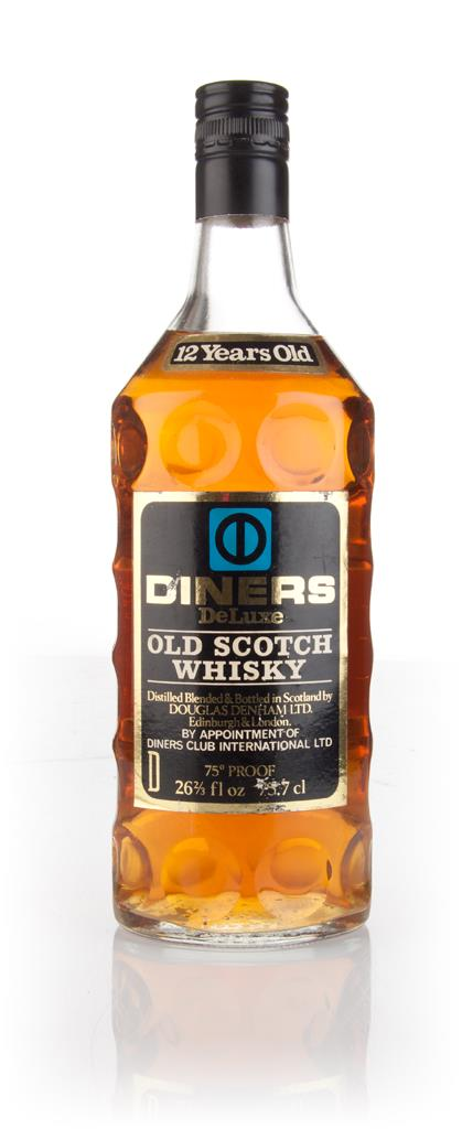 Diners DeLuxe 12 Year Old - 1970s Blended Whisky