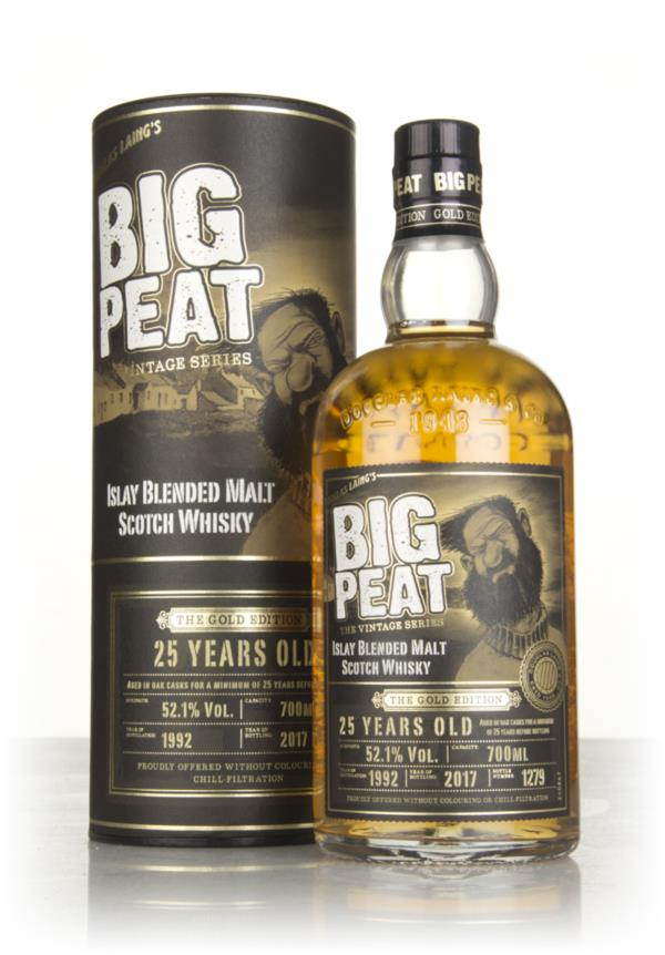Big Peat 25 Year Old - The Gold Edition 3cl Sample Blended Malt Whisky