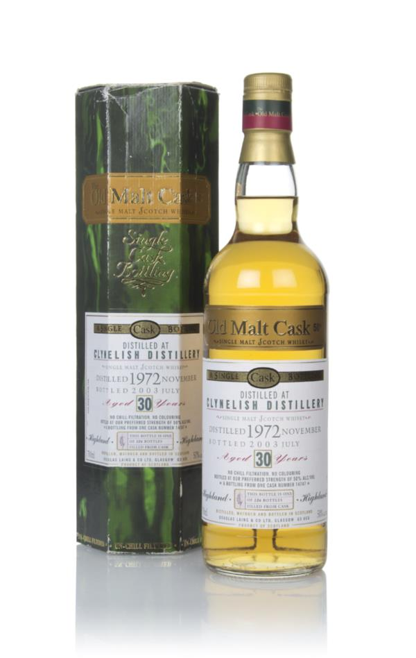 Clynelish 30 Year Old 1972 - Old Malt Cask (Douglas Laing) Single Malt Whisky