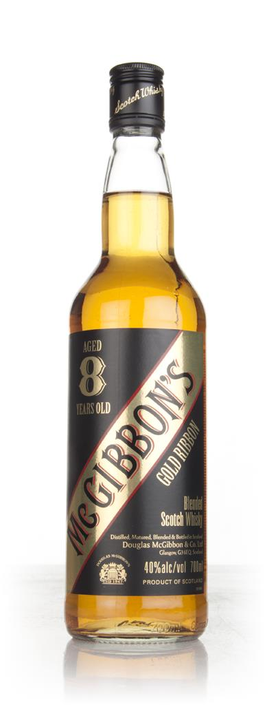 McGibbon's 8 Year Old Gold Ribbon Blended Whisky