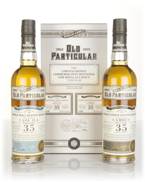 Douglas Laing Old Particular Double Pack Single Malt Whisky