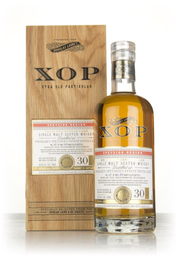 Probably Speysides Finest Distillery 30 Year Old 1986 (cask 12232) - Single Malt Whisky