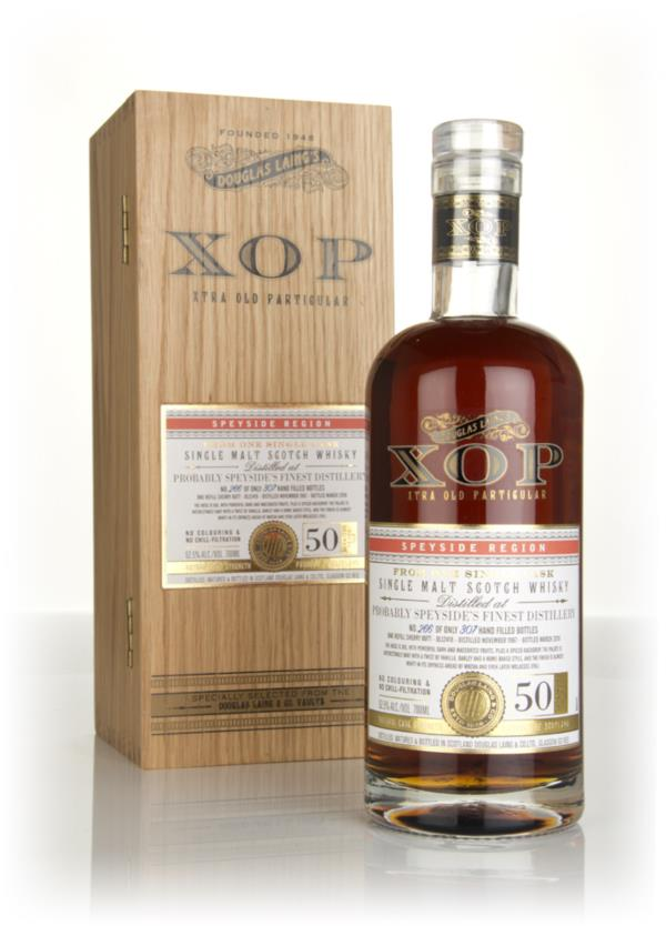 Probably Speysides Finest Distillery 50 Year Old 1967 (cask 12418) - Single Malt Whisky