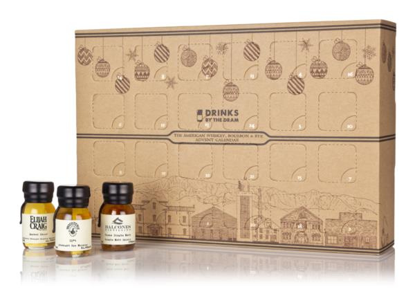 American Whiskey, Bourbon & Rye Advent Calendar - Classic Style (2019 Blended Whisky