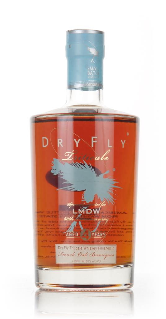 Dry Fly 4 Year Old Triticale French Oak Finish (La Maison du Whisky 60 Grain Whiskey