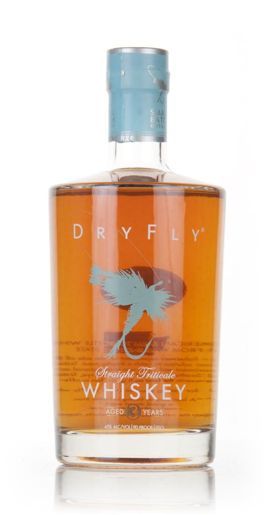 Dry Fly Triticale Whiskey 3 Year Old Grain Whiskey