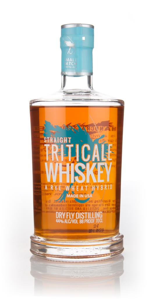 Dry Fly Triticale Grain Whiskey