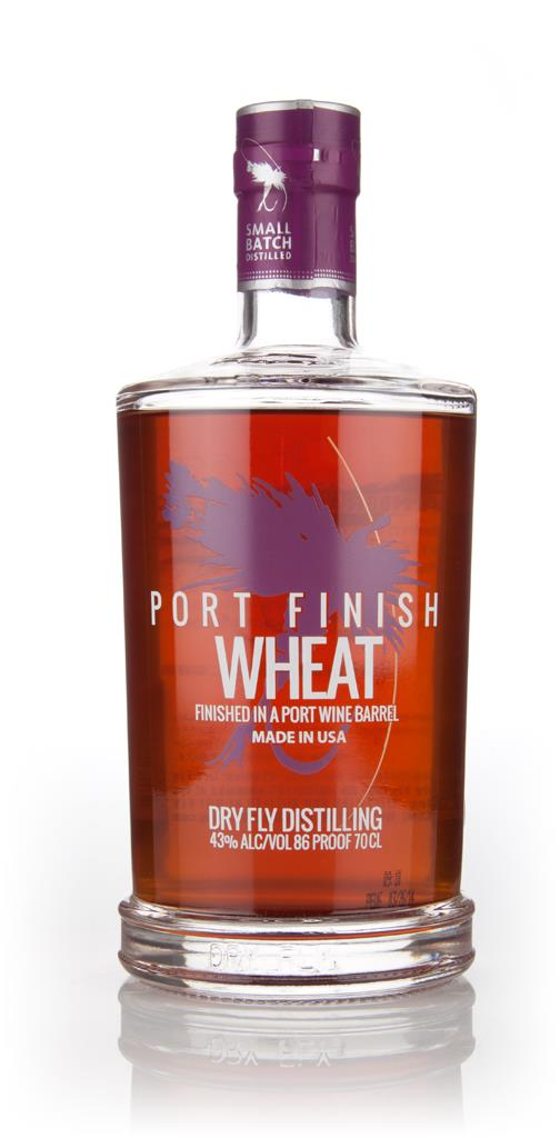 Dry Fly Wheat Whiskey - Fortified Huckleberry Wine Cask Finish 3cl Sam Wheat Whiskey 3cl Sample