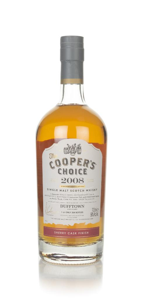 Dufftown 10 Year Old 2008 (cask 9080) - The Cooper's Choice (The Vinta Single Malt Whisky