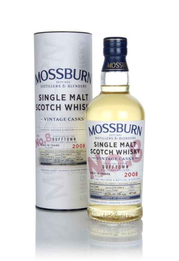 Dufftown 10 Year Old 2008 - Vintage Casks (Mossburn) Single Malt Whisky