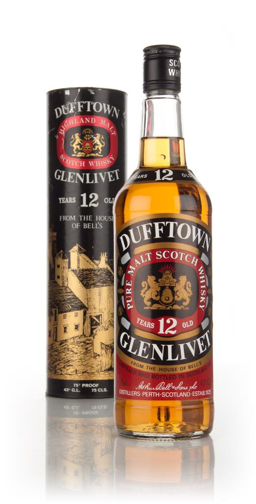 Dufftown 12 Year Old - 1980s Single Malt Whisky