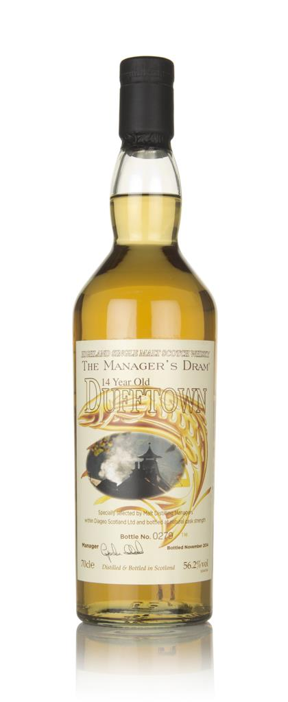 Dufftown 14 Year Old - The Managers Dram Single Malt Whisky