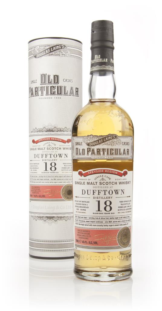 Dufftown 18 Year Old 1995 (cask 9962) - Old Particular (Douglas Laing) Single Malt Whisky