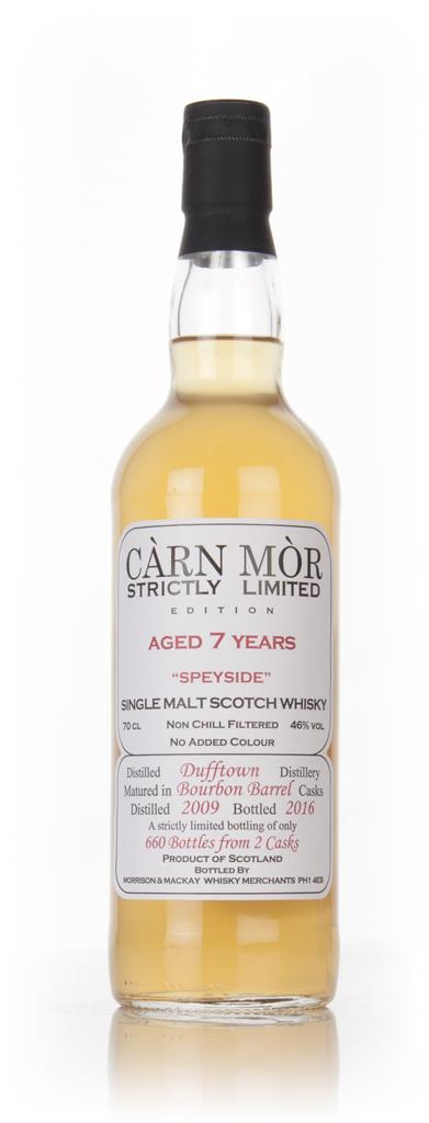 Dufftown 7 Year Old 2009 - Strictly Limited (Carn Mor) Single Malt Whisky